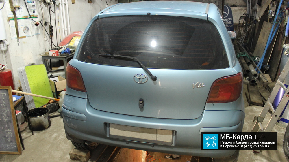 Ремонт кардана Toyota Vitz