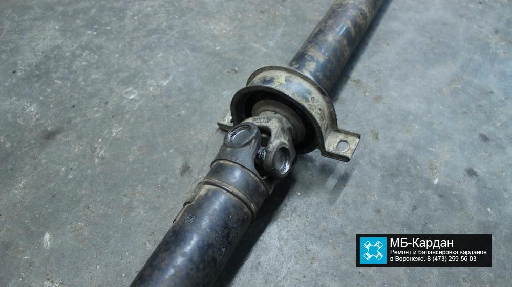 Замена подвесного подшипника на карданном вале SsangYong Kyron