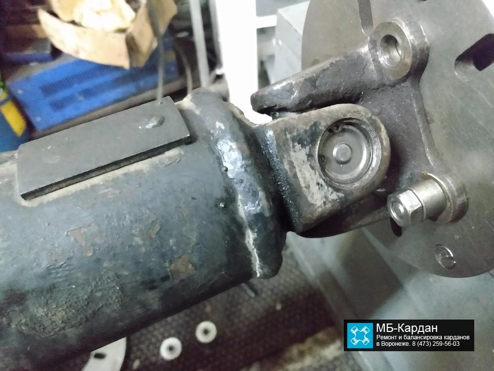 Nissan Murano замена крестовин на кардане